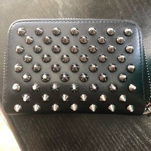 Christian Louboutin Pannettone Spiked Wallet